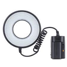 ring light for video camera mrc 232 macro led dimmable light ring video light kit 1400lm color