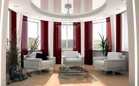 interior house designs photos with amazing contemporay of red and
