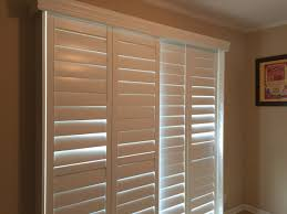 Bypass Shutters For Patio Doors Shutters Composite Bypass Tilt A Made In The Shade Blinds