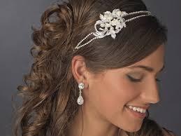 bijoux tete mariage bijoux de tete mariage strass oh la la