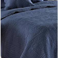 Twin Matelasse Coverlet Slate Denim Blue Matelasse Quilt Coverlet Set Polyvore
