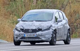 nissan renault car mysterious nissan renault mule is based on the note but what is