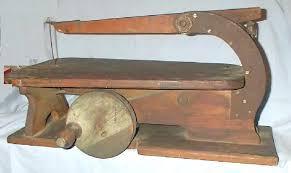 Table Jigsaw Very Unique U0027 U0027pre Electricity U0027 U0027 Hand Crank Jig Saw For Sale