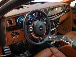 interior rolls royce ghost photos et images de rolls royce phantom viii with designer giles