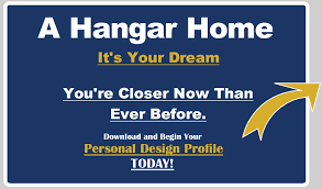 hangar homes are unique they combine an airport hangar with a