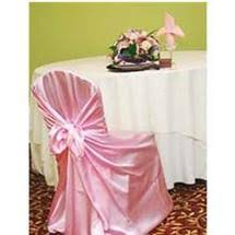 satin chair covers self tie chair cover