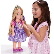 dolls that light up disney princess rapunzel 20 electronic talking and light up doll