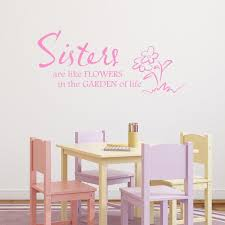 online store sisters quote wall sticker family quote wall decal sisters quote wall sticker family quote wall decal sister wall art transfer girls