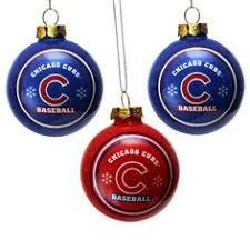 chicago cubs tree ornaments sports fan gear