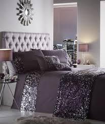 Superking Duvet Sets Luxury Sequin Duvet Quilt Cover Bedding Set Dazzle Ebay