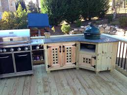 Outdoor Kitchen Lighting Outside Kitchen Island Island Built In Barbecue Grills Outdoor