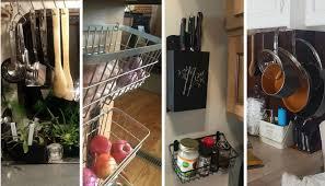 rv kitchen cabinet storage ideas 25 storage tips ideas hacks for organizing cer
