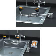 Faucet Mounted Eyewash Station Eyewash Tag Emedco