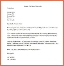 notice letter sample resign letter one month notice sample