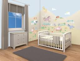 walltastic baby jungle safari room decor kit amazon co uk