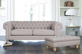 Fabric Chesterfield Sofa Webster Design Chesterfield Sofa Range Grey Fabric