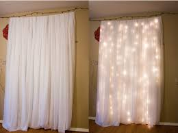 Curtain Christmas Lights Indoors Frugal Diy Holiday Decor Day Three Cool Indoor Uses For Holiday