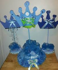 a new prince baby shower prince baby shower centerpiece lil prince centerpieces i made