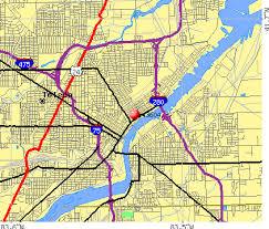 toledo ohio map toledo ohio zip code map zip code map
