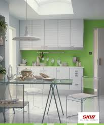 sico paints green painted walls or white why not both pair a