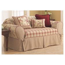 Shabby Chic Sofa Slipcover by Features Suitable For A Box Cushion Sofa Please Measure Your
