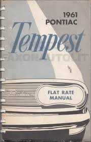 1961 pontiac hydra matic transmission repair shop manual original