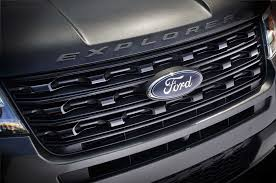 Ford Explorer Grill Guard - 2016 ford explorer review lowrider