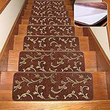 Modern Stair Tread Rugs Soloom Stair Treads Carpet Indoor Non Slip Blended Jacquard Skid