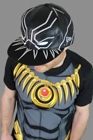 Black Panther Marvel Halloween Costume Coming Black Panther Armor Era 5950 Hat