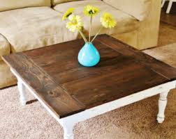Rustic Square Coffee Table Make This Easy Farmhouse Coffee Table With Woden Plans U2013 Rustic