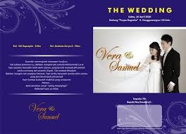 template undangan format cdr template desain undangan pernikahan ultah khitanan format