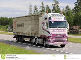 2017 volvo semi truck customized volvo fh semi truck transport at summer editorial