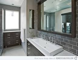 gray bathroom ideas a look at 15 sophisticated gray bathroom designs home design lover