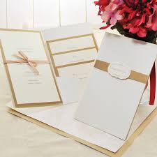 diy wedding invitation kits wedding invitation diy kit amulette jewelry