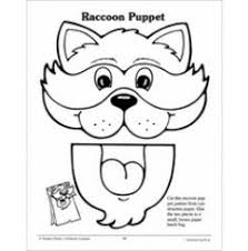 lion paper bag puppet template google search kid crafts