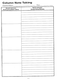 10 best images of printable note taking graphic organizers free
