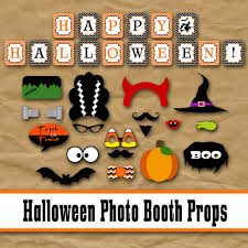 halloween photo booth props printable pdf halloween photo booth props and decorations printable props and