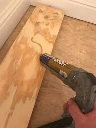 Spacers For Laminate Flooring Faux Real Shiplap Look For Less U2013 Pine U0026 Birch Blog