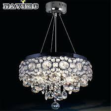 Modern Round Crystal Chandelier Round Chandelier Light U2013 Engageri