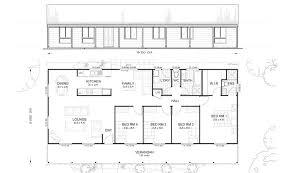 Design Kit Home Online Gordon 4 Met Kit Homes 4 Bedroom Steel Frame Kit Home Floor