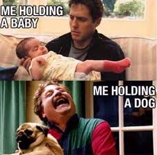 Man Baby Meme - dopl3r com memes me holding a baby me holding a dog