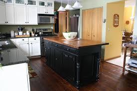 kitchen design butcher block island