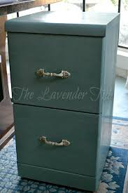 painting a file cabinet the lavender tub chalk painted filing cabinet