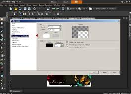 how to change the color of the grid in paintshop pro x3 and x4