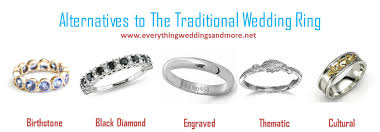 wedding band alternatives wedding ring alternatives wedding corners