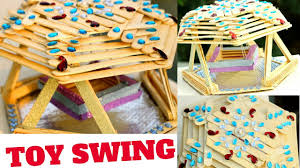 popsicle baby swing toy jhula ladoo gopal diycrafts 12