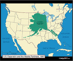 map us expansion u s expansion the alaska purchase map 1867 by maps from
