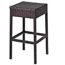 Outdoor Bar Table And Stools Amazon Com Tk Classics 7 Piece Napa Bar Table Set With Backless