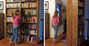 how to make secret door bookcase diy u0026 crafts handimania