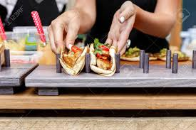 commercial cuisine vendor taco outdoors cuisine